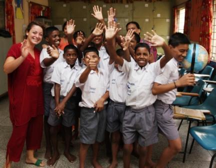 Volunteer with Street Children India, Street Children Program, Volunteering in India