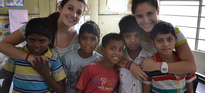 Voluntarios Programas de Niños de la Calle India